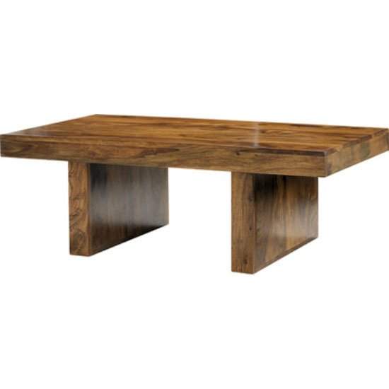 Cube Sheesham Block Coffee Table