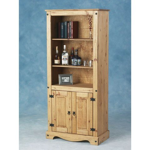 Corona 2 Door Display Unit And Bookcase