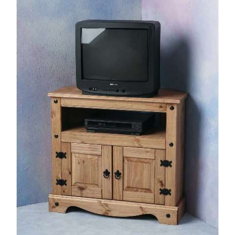 Corona Corner TV Video Cabinet