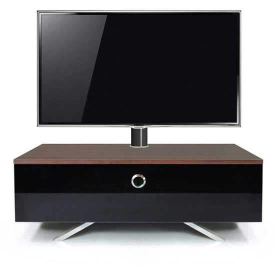 Cameo Hybrid Cantilever LCD TV Stand In Walnut
