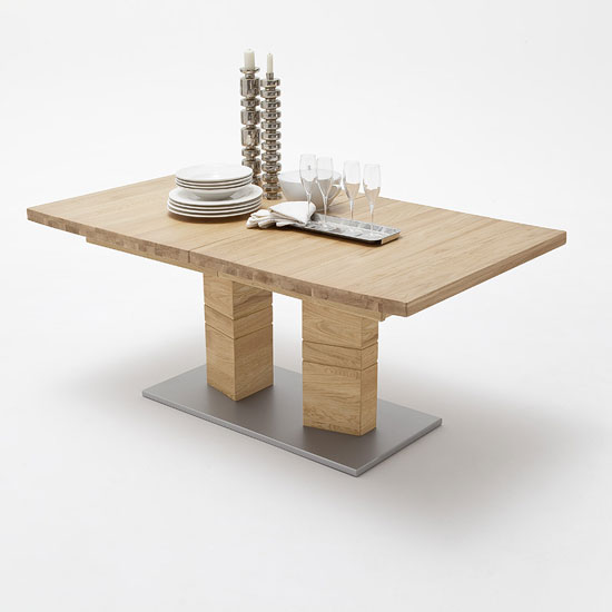 CUN14AWE - 6 Reasons To Have A Solid And Modern Oak Dining Table And Benches In Your Home