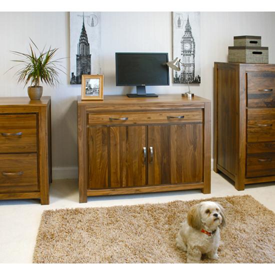 Read more about Sayan walnut hidden home office