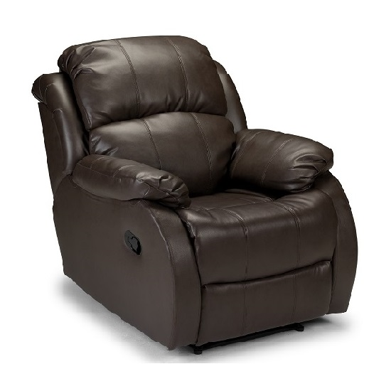 Florida Swivel Recliner Chair Leather With Foot Stool In