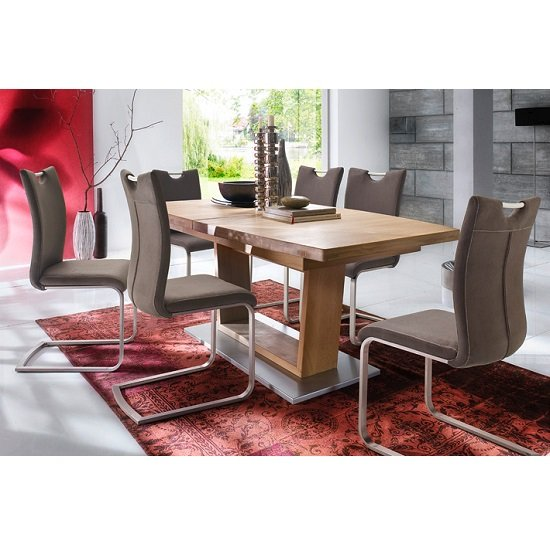 10 perfect dining table sets for a contemporary room fif for Furniture in fashion