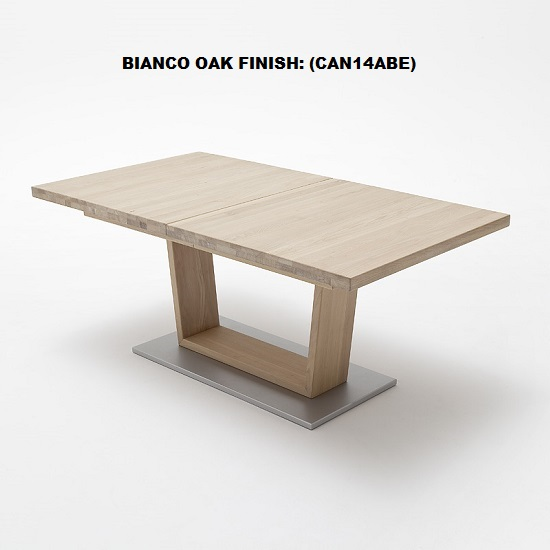 Cantania Dining Table Rectangular In Core Beech And 6 Pavo Chair_5