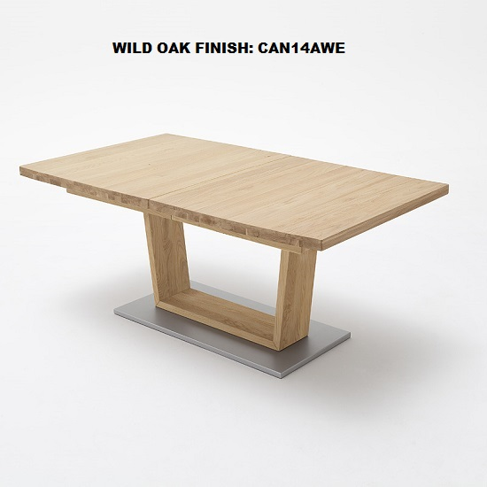 Cantania Dining Table Rectangular In Core Beech And 6 Pavo Chair_4