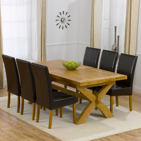 cross leg dining table shop for cheap furniture and save. Black Bedroom Furniture Sets. Home Design Ideas