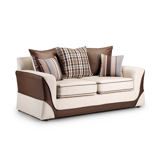 Casablanca 2Seater Brown INSTORE - Striped Sofas: Living Room Furniture Trends That Are Coming Back