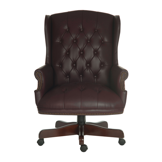 Chairman Brown Traditional Leather Executive Chair_2