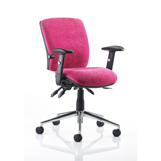 Chiro Pink Office Chair 15972 Furniture In Fashion