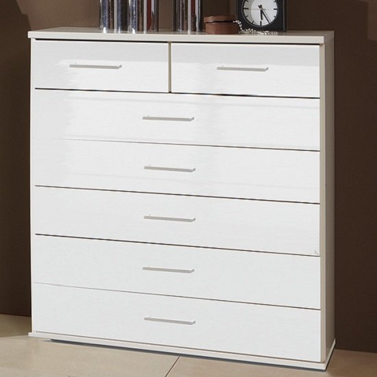 Alton wide chest of chest of drawers price comparison for Furniture in fashion