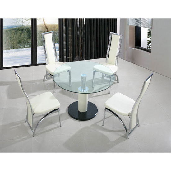 Types of small dining sets for apartments fif blog for Small cream chair