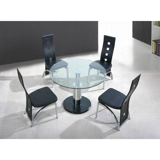 Buy Cheap Round Glass Dining Table Compare Tables Prices For Best UK Deals