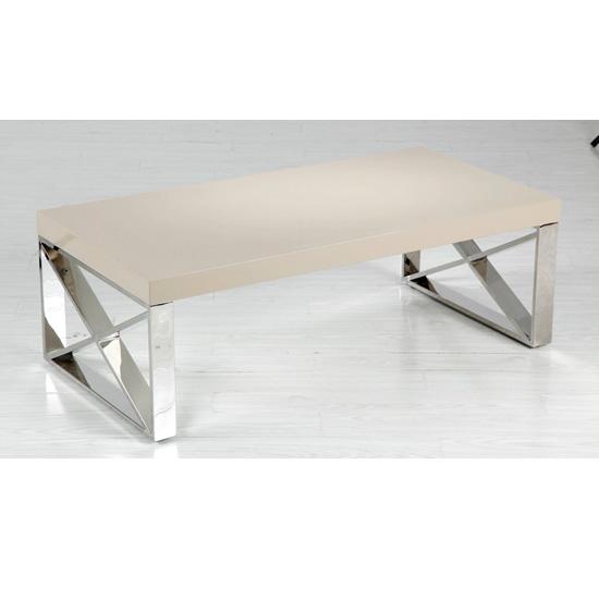 Furniture In Fashion Comet Mushroom High Gloss Coffee Table