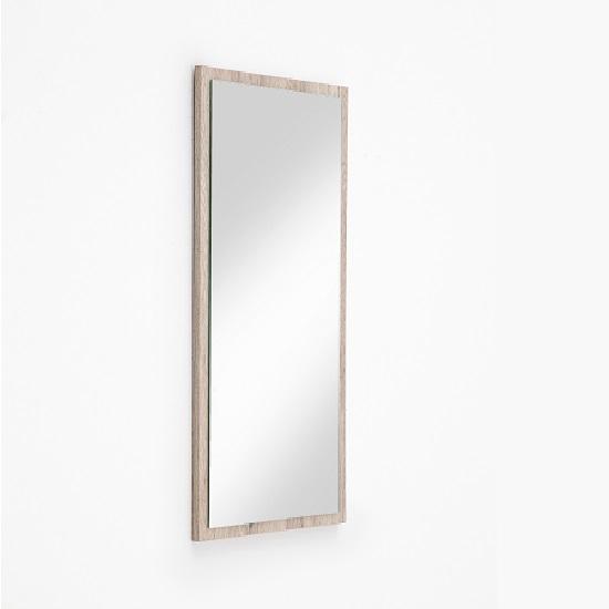 Camino Wall Mirror In Sanremo Oak Frame