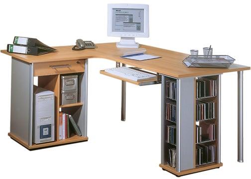 Computer Desk 5409 - Niceness of L-Shaped Computer Desks