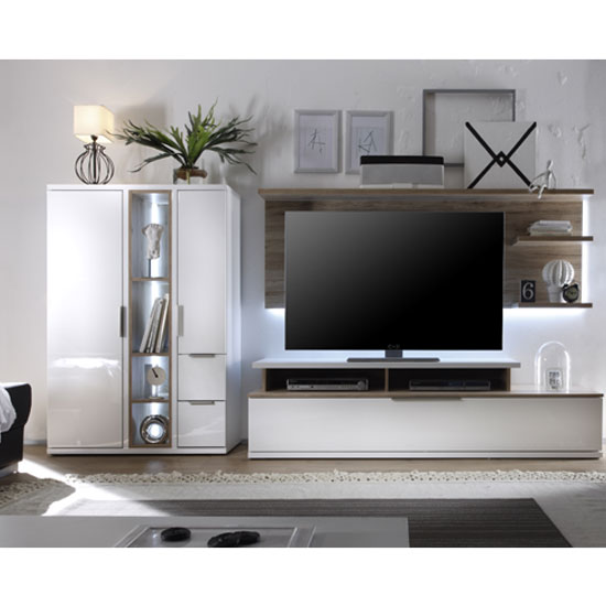 Cool living room furniture set in high gloss black - High gloss black living room furniture ...