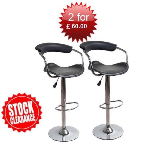 2 Bar Stools For Under 16315000 : Contempo black bar stoolx2 from www.furnitureinfashion.net size 550 x 550 jpeg 49kB