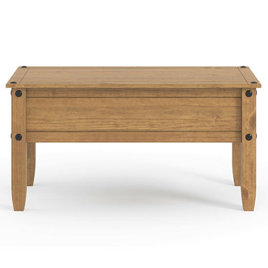 Corina Wooden Coffee Table In Antique Wax Finish_2