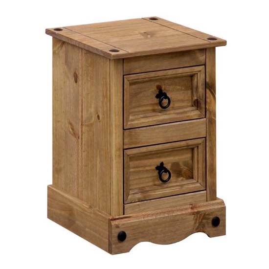 Read more about Corina 2 drawer petite bedside cabinet