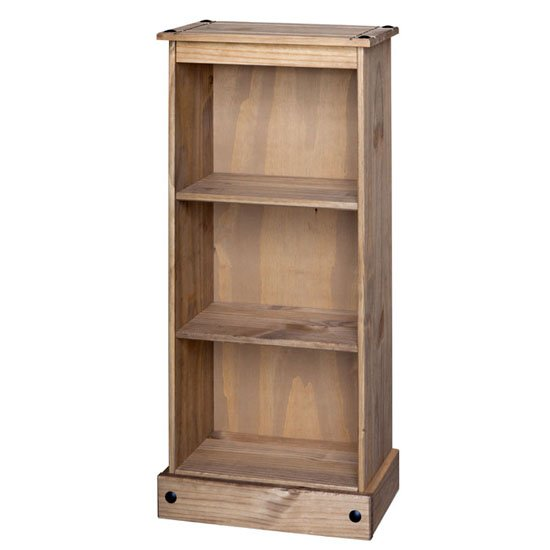 View Corina low narrow bookcase