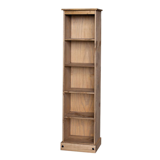 Corina Tall Narrow Bookcase