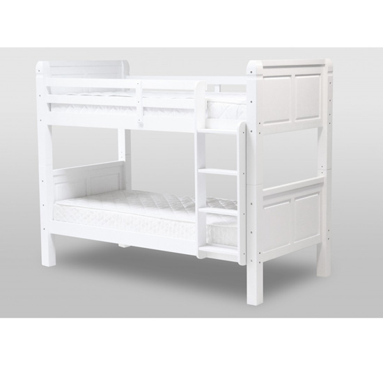 Corona White Bunk Bed