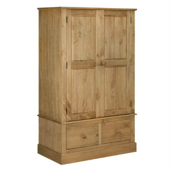 Cotswold 2 Door, 2 Drawer Wide Wardrobe CT522
