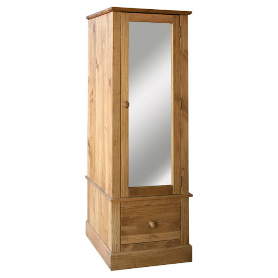 Read more about Cotswold armoire with mirrored door