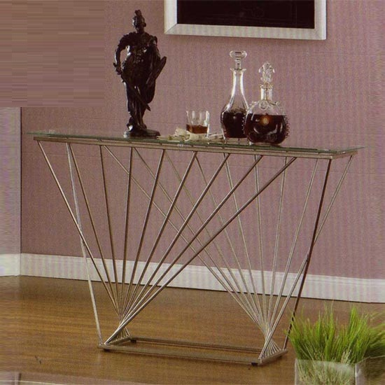 Crystal console table - Furniture For Regency Hotels, Set of Rules For The Regency Hotels