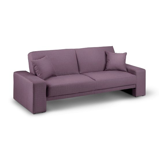 Cuba Matrix Plum Sofabed Fabric INSTORE1 - Quality Sofa Beds Everyday Use: Boosting Unit Functionality