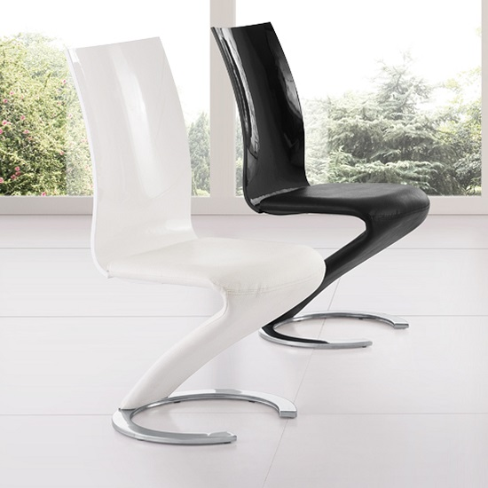 Zoro z shaped dining room chair 21353 furniture in fashion for Z shaped dining room chairs