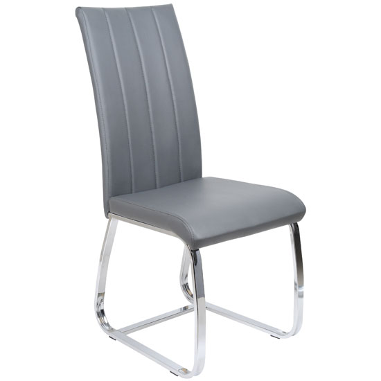 dining room furniture dining chairs elston dining chair in grey faux