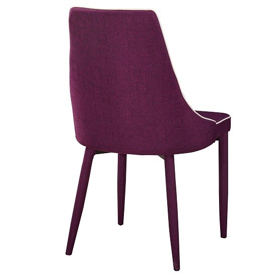 Purple Leather Dining Chairs 2 4 6 8 Perth Purple