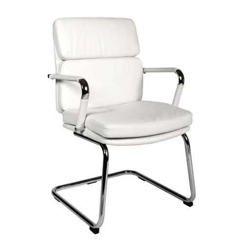 Deco Visitor Retro Eames Style White Chair