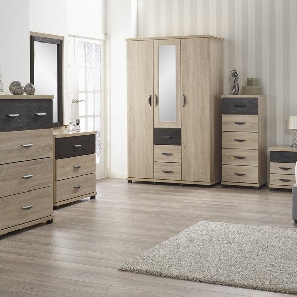 Dressing Table Attached With Wardrobe Designs