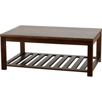 Isabella Coffee Table in Dark Walnut