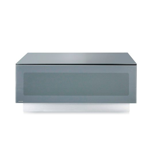Castle LCD TV Stand Small In Grey With Glass Door_3