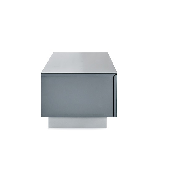 Castle LCD TV Stand Small In Grey With Glass Door_5
