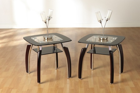 ELENA LAMP TABLE BLACK - Flat Pack Furniture, Make Your Life Easier