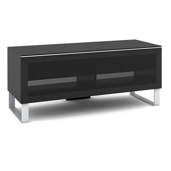 EX 120 03 Black - 5 Impressive Benefits Of TV Corner Cabinet With Glass Doors