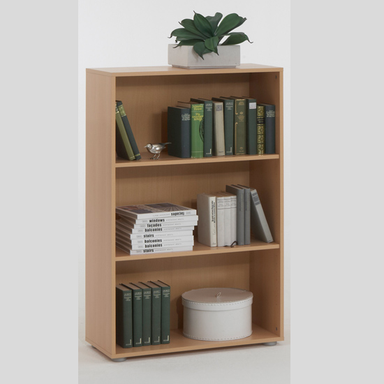 Beech Display Shelving Unit Shelves Felix3 14792 Furniture