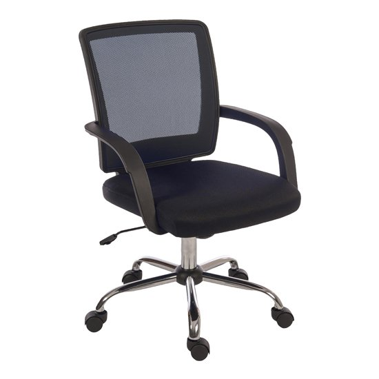 Fenton Home And Office Chair In Black