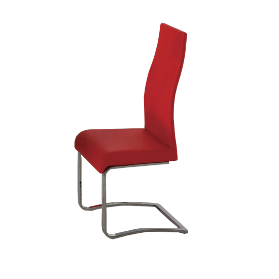 G655 Pamela Dining Chair Rd - Red Leather Dining Chairs: 5 Reasons To Have Them In Your Room