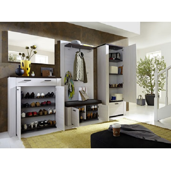 GW Havanna 230 pe dek open  - 10 Shoe Storage Benches — Perfect Solutions For An Entryway