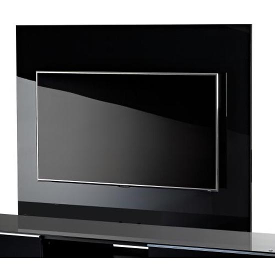 Black TV Background Plate