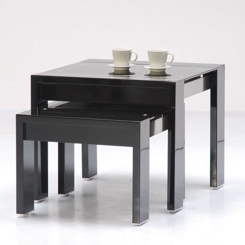 Galaxy black nested tables - Benefits Of Having Nests of Tables In Your Living Room