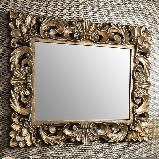 Gallery Levinia Mirror1 - Wall Mirrors: Dining Room Decoration Ideas That Really Sparkle