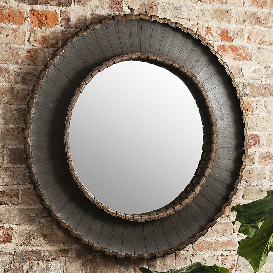 Gallery Volterra Mirror Round - Wall Mirrors: Decorative Large Ideas To Add Some Space To A Room