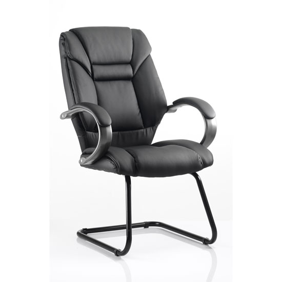 Galloway Leather Cantilever Office Chair